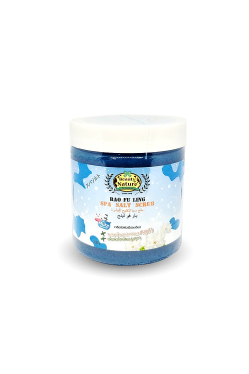 Cкраб для тела/Beauty Nature By Carebeau Body Salt Scrub Bao fu ling. 700 g