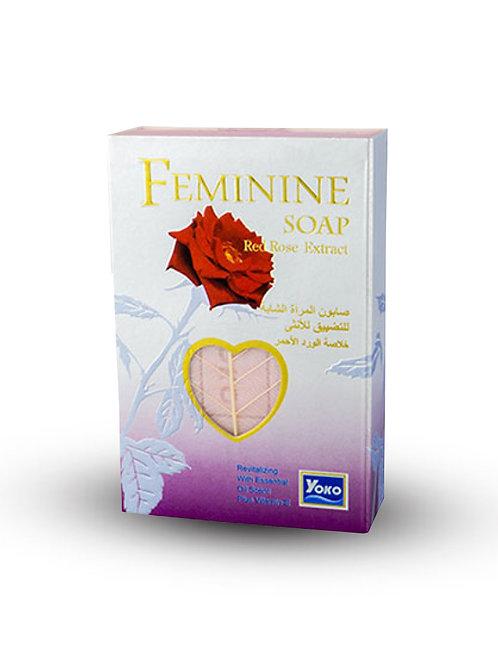 Мыло/YOKO FEMININE SOAP (RED ROSE EXTRACT) 80g