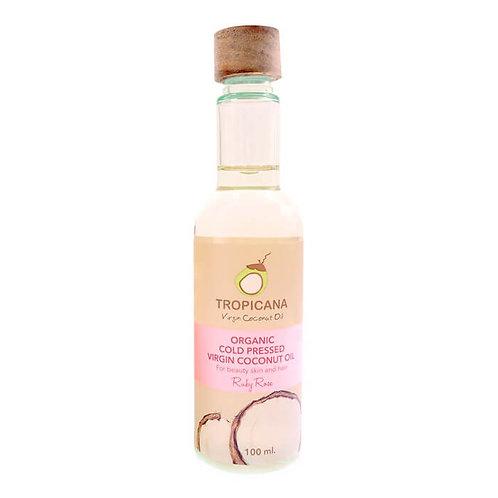 Масло для тела и волос/ORGANIC COLD PRESSED VIRGIN COCONUT OIL, RUBY ROSE,