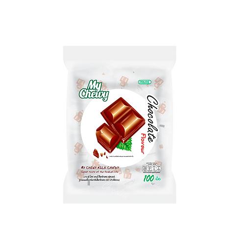 Конфеты со вкусом шоколада/My Chewy Milk Candy Chocolate Flavour 380 g.