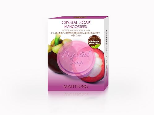 Мыло с мангустином Crystal Soap Maithong,70гр