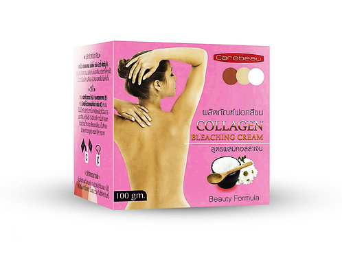 Отбеливающий крем/Collagen Bleaching Cream, Carebeau, 100g