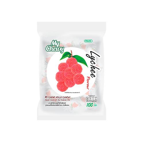 Конфеты со вкусом личи/My Chewy Milk Candy Lychee Flavour 360 g.