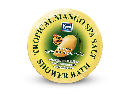 Солевой скраб/YOKO TROPICAL MANGO SPA SALT SHOWER BATH 240g