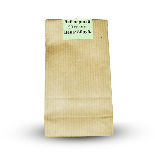 Тайский черный чай, Siam Tea Factoty. 50 г