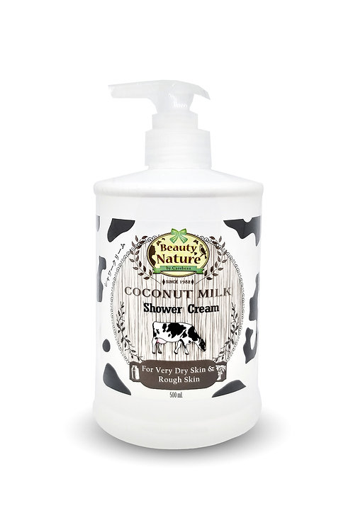 Крем для душа/Beauty Nature By Coconut Milk Shower Cream, Carebeau. 500 ml