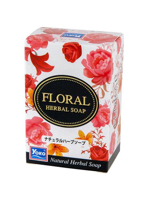 Мыло/YOKO FLORAL HERBAL SOAP. 80g