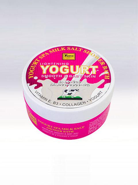 Скраб для тела/YOKO GOLD YOGURT SPA MILK SALT SHOWER BATH (380 g.)