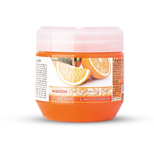 Солевой скраб/Carebeau Spa Lightening Salt Orange. 700g