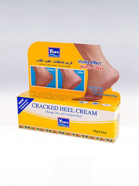 Крем для пяток/YOKO CRACKED HEEL CREAM 50g