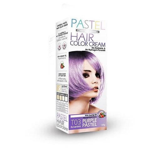 Крем краска для волос/HAIR COLOR CREAM PURPLE, Carebeau. 100g