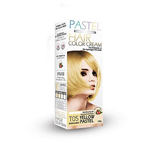 Крем краска для волос/HAIR COLOR CREAM YELLOW, Carebeau. 100g