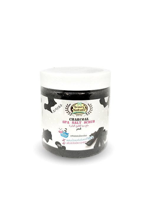 Солевой скраб/Beauty Nature By Carebeau Body Salt Scrub Charcoal. 700 g