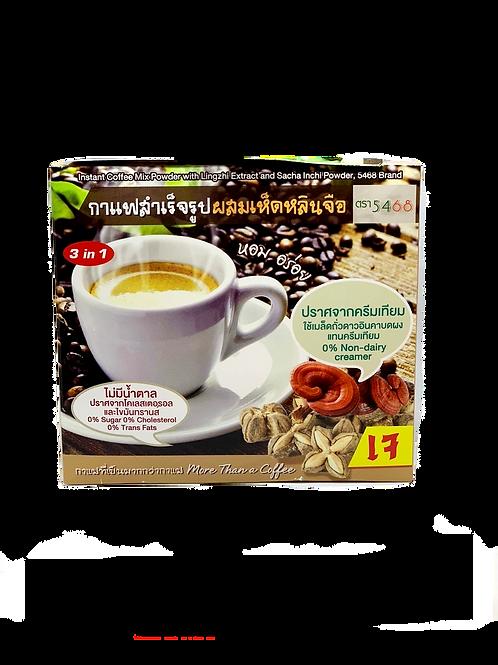 Растворимый кофе с экстрактом лингжи,10шт