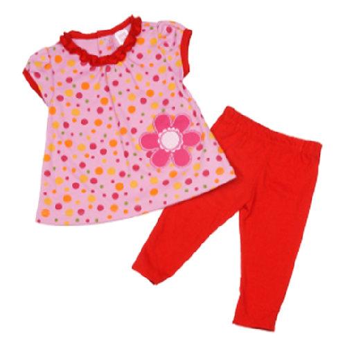 Комплект для девочки 2 в 1, Carter's. 3, 6, 9 месяцев