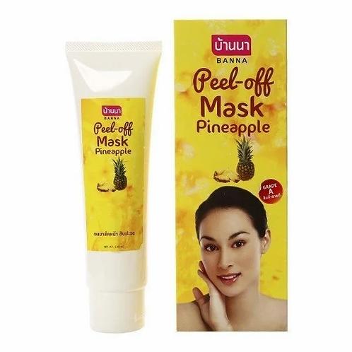 Маска пленка для лица/Peel-off Mask Pineapple, Banna. 120ml