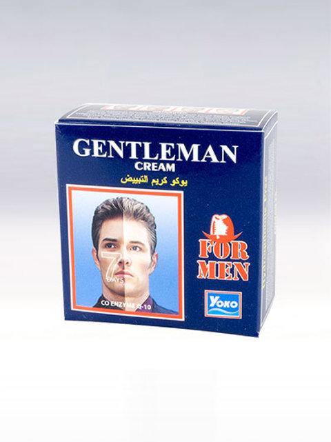 Крем для лица мужской/YOKO GENTLEMAN CREAM. 4g