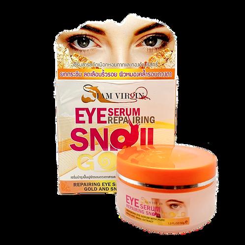 Сыворотка для кожи вокруг глаз/Eye Serum Repairing SNAIL GOLD, Siam Virgin. 30g