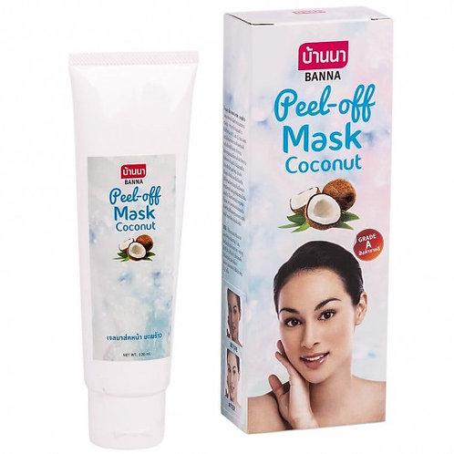 Гель маска для лица/Pell-off Mask Cocount. Banna. 120ml