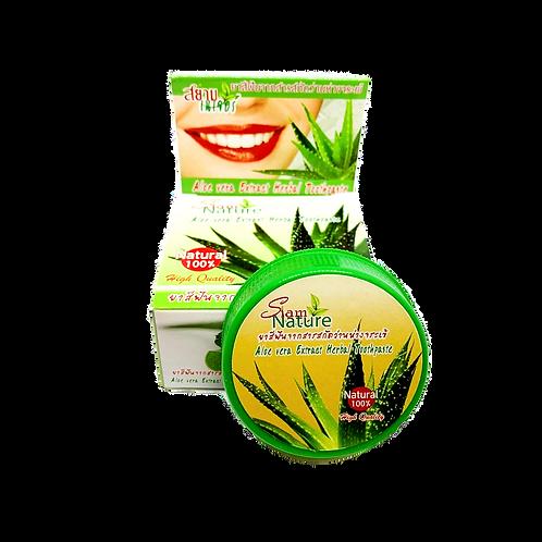 Зубная паста/Aloe vera Extract Herbal Toothpaste. Siam Nature. 25g
