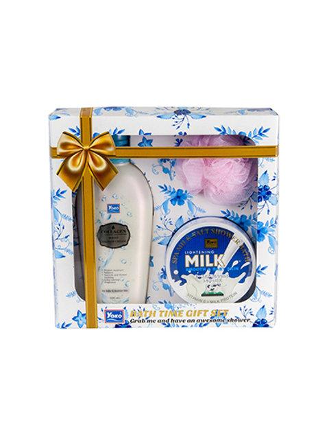 Подарочный набор для ванны/YOKO BATH TIME GIFT SET (880g)