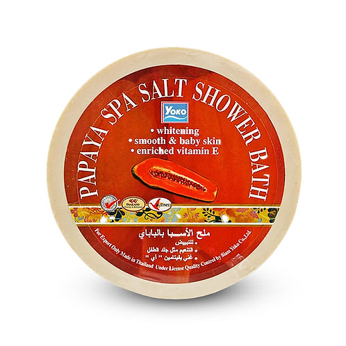 Скраб для тела/YOKO PAPAYA SPA SALT SHOWER BATH. 250g