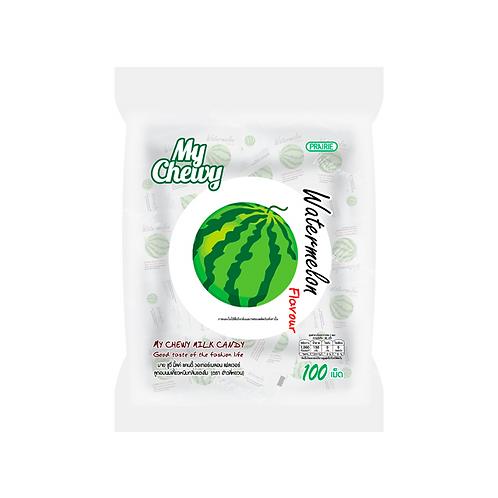 Конфеты со вкусом арбуза/My Chewy Milk Candy Watermelon Flavour 360 g.