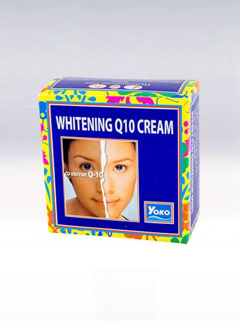 Крем для лица/YOKO WHITENING Q10 CREAM. 4g