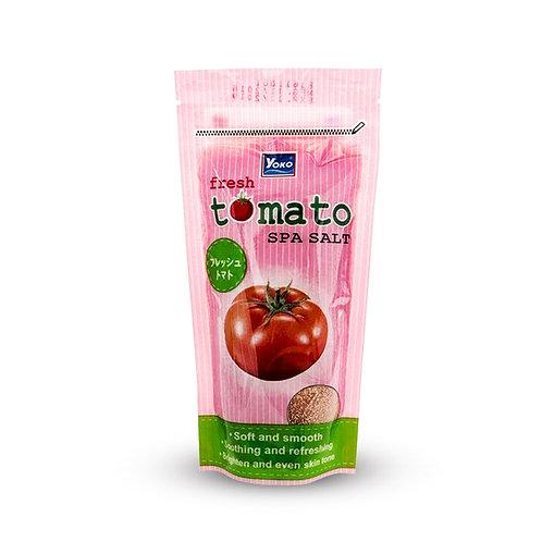 Скраб солевой/YOKO FRESH TOMATO SPA SALT. 300g