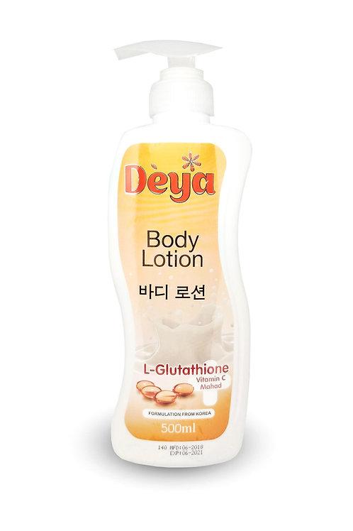 Лосьон для тела, L-Gluta +Vitamin C/Deya Body Lotion L-Gluta+Vitamin C