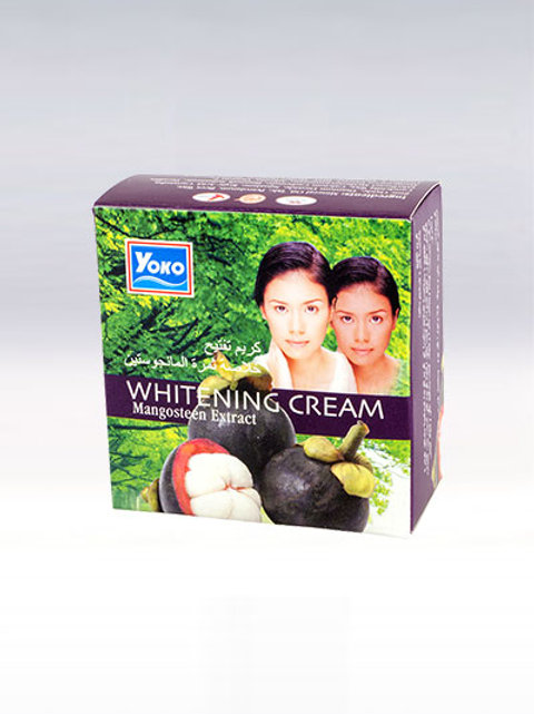 Крем для лица/YOKO WHITENING CREAM (MANGOSTEEN EXTRACT). 4g