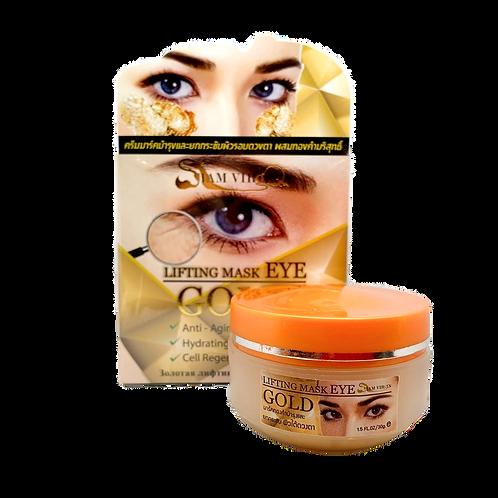Маска для кожи вокруг глаз/Lifting Mask EYE GOLD. 30g