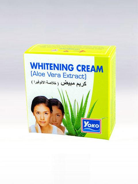 Крем для лица/YOKO WHITENING CREAM (ALOE VERA EXTRACT). 4g