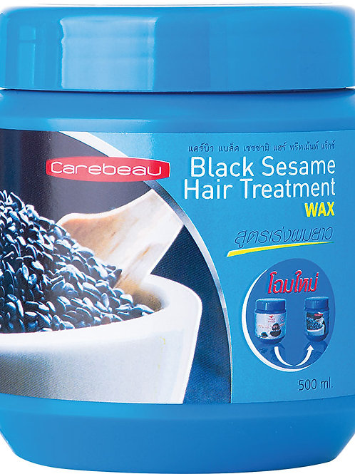 Маска для волос/BLACK SESAME HAIR TREATMENT. Carebeau. 500ml