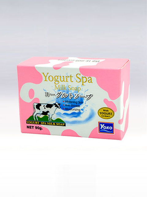 Мыло/YOKO YOGURT SPA MILK SOAP. 90g