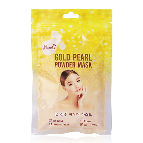 "Маска для лица ""Gold pearl""/MOODS GOLD PEARL POWDER MASK,30гр"