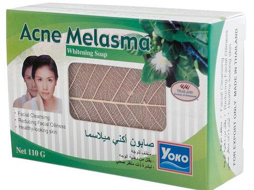 Мыло от прыщей/YOKO ACNE MELASMA WHITENING SOAP. 110g