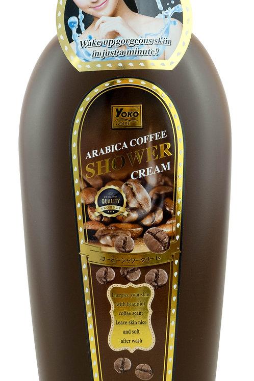 Крем для душа/YOKO ARABICA COFFEE SHOWER CREAM 500 ML.