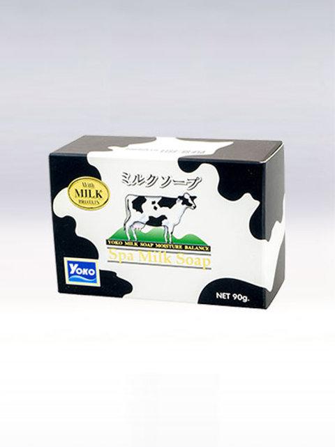 Мыло с молоком/YOKO SPA MILK SOAP. 90g