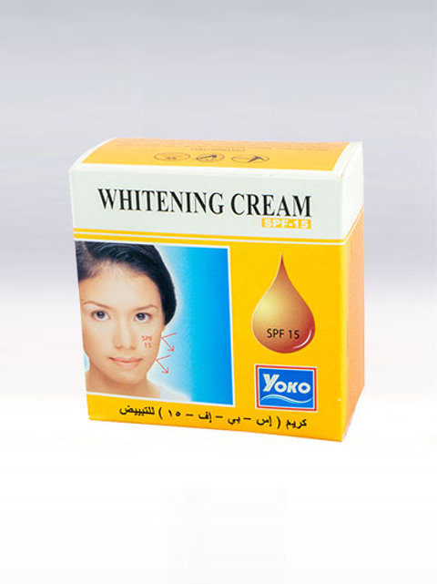 Крем для лица/YOKO WHITENING CREAM SPF15. 4g