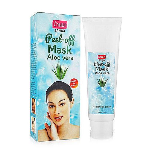 Пилинг маска для лица/Peel-off Mask Aloe vera. Banna. 120ml