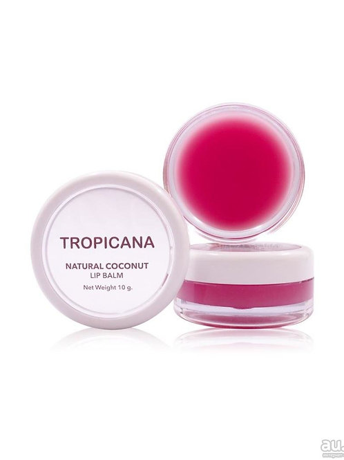 Бальзам для губ/Natural Coconut Lip Balm Pomegranate. 10g