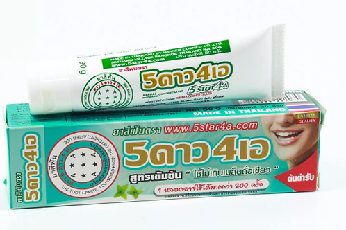 Зубная паста/Herbal toothpaste concentrated 5star4a,30g