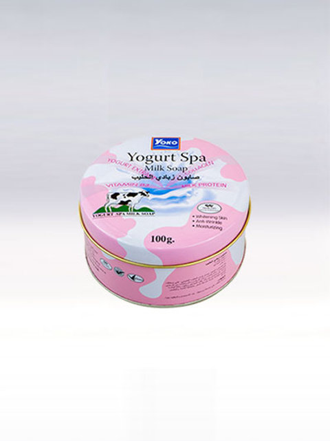 Мыло/YOKO YOGURT SPA MILK SOAP. 100g
