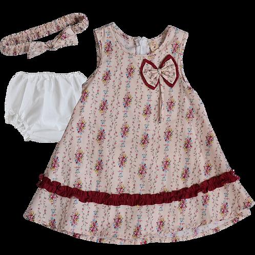Платье для девочек 3 в 1, De Berry. 1 год