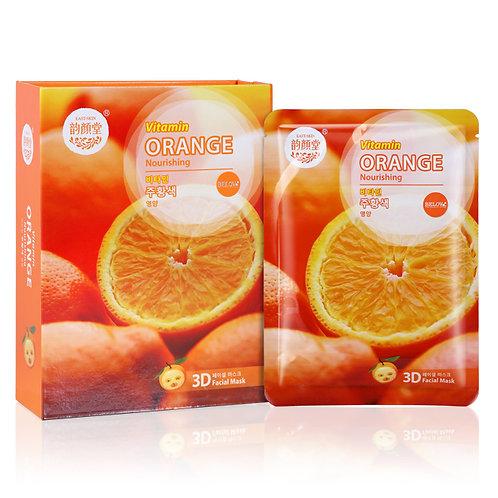 """Маска тканевая для лица""""Orange"""",38гр"""