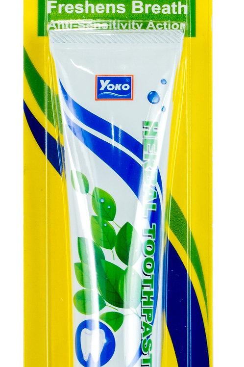 Зубная паста травяная/YOKO HERBAL TOOTHPASTE (40 g.)
