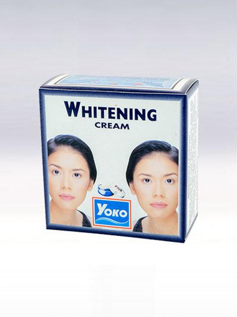 Крем для лица/YOKO WHITENING CREAM. 4g