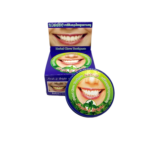 Зубная паста/Herbal Clove Toothpaste Fresh & Bright. 25g