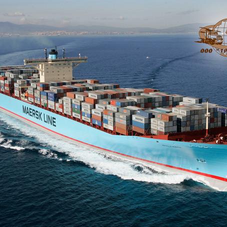 Предновогодний морской контейнер